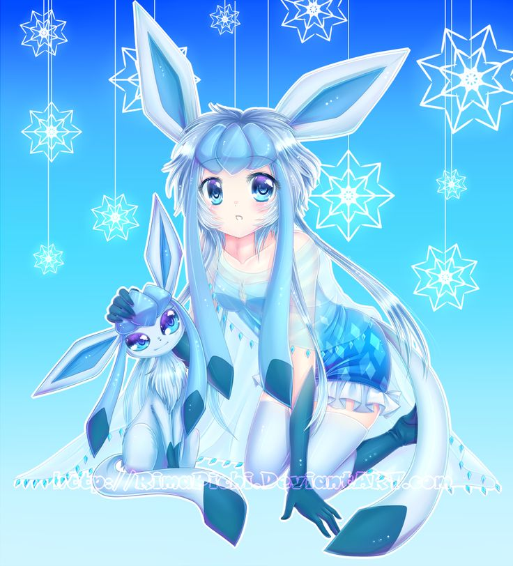 Human Glaceon | My Favorite Pokemon | Pinterest