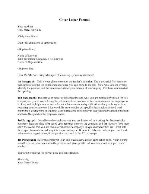 cover letter | Business/Job | Pinterest