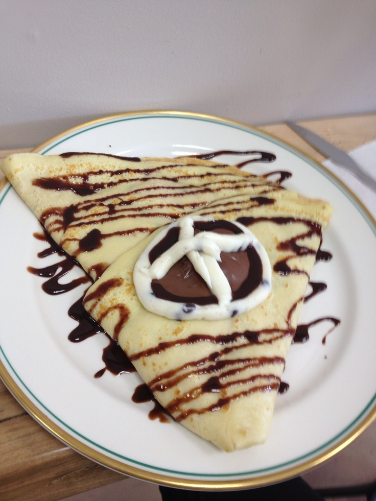 Sogno cannoli crepe! Homemade crepe stuffed with our signature ...