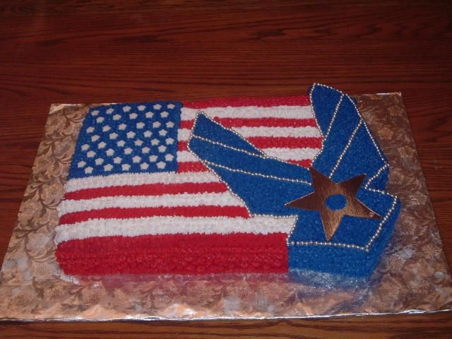 Air force awards cake food for Air force cakes decoration