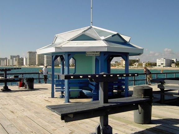 Anglins fishing pier pompano beach fl things to do for Pompano fishing pier