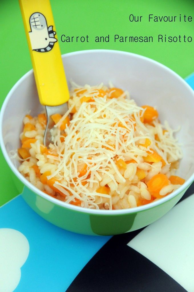 "Carrot and Parmesan Risotto: ""Ever since we helped my mum pick carrots ..."