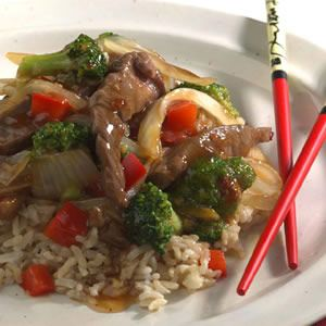 Orange marmalade is the secret ingredient in this quick stir-fry. For ...