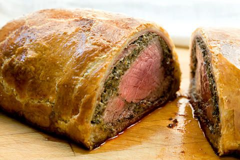 """Classic Beef Wellington Recipe_ Adapted from """"Beef: And Other Bovine ..."""