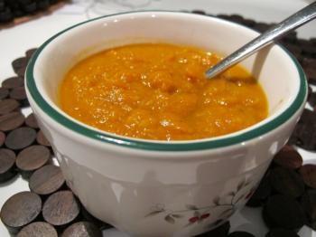 Carrot, ginger and lentil soup | Veggie Fare | Pinterest