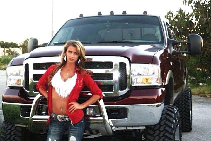 Country Girl Amp Pickup Truck Girls And Trucks Pinterest