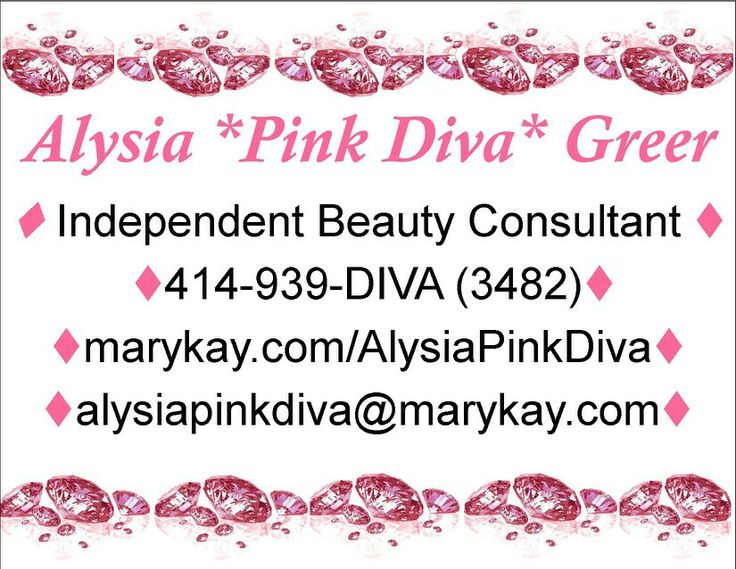 My contact information mary kay pinterest