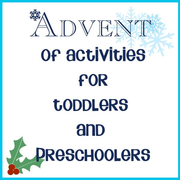 24 activities for advent for Toddlers and Preschoolers with a mix of crafts, exploring, baking and family fun. Plus free printable activity cards for you of the activities plus blank cards to add your own.