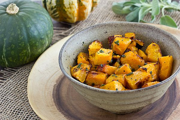 Roasted Ambercup Squash with Brown Butter | Recipe