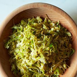 ... Square Café's Hashed Brussels Sprouts with Poppy Seeds and Lemon