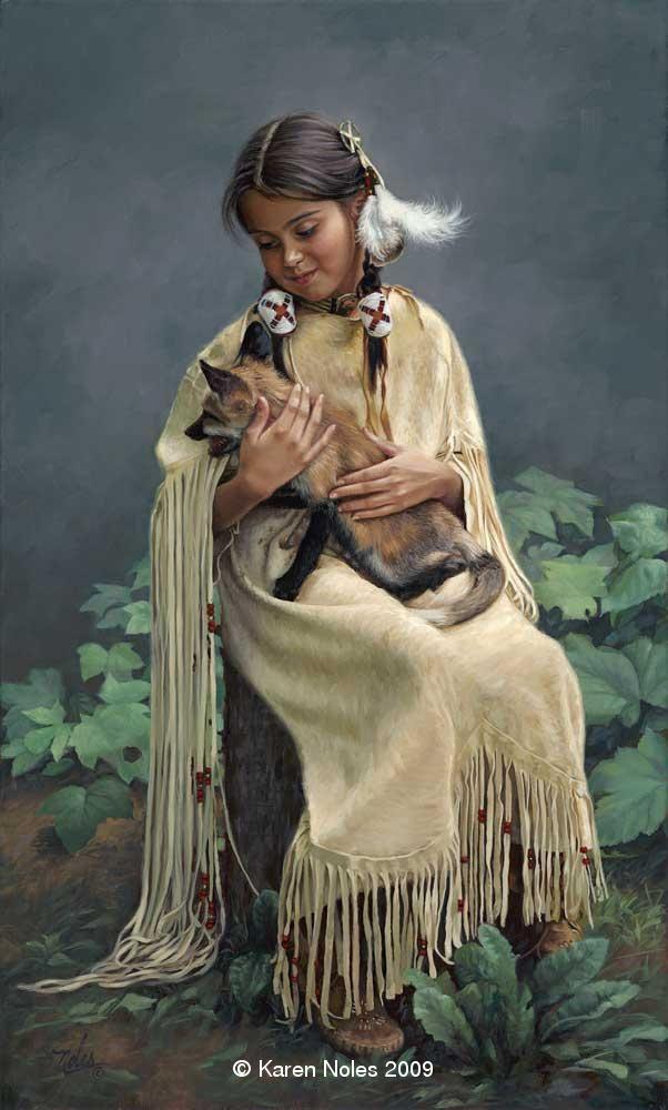"karen noles paintings | ... Friend"" -New Giclee Canvas Reproductions of Karen Noles Paintings"