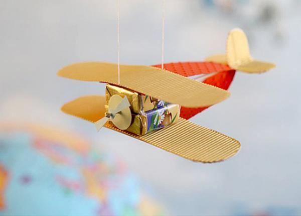 Подарок на день авиации своими руками