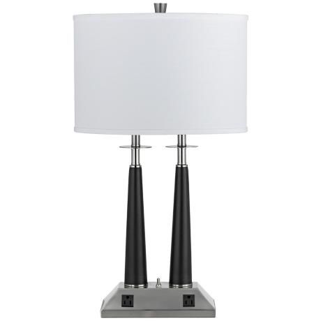Amazing  Table Lamps With Power Outlets On Pinterest  Led Desk Lamp Desks And