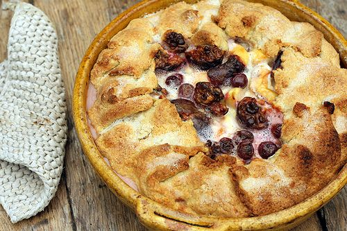Harvest Tart. Rustic. Uses many favorite fall fruits. Thank you David ...