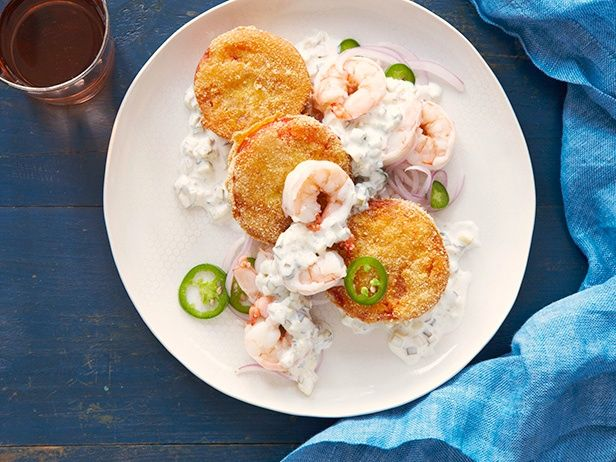 Pickled Shrimp and Fried Tomatoes Recipe : Food Network Kitchen : Food ...