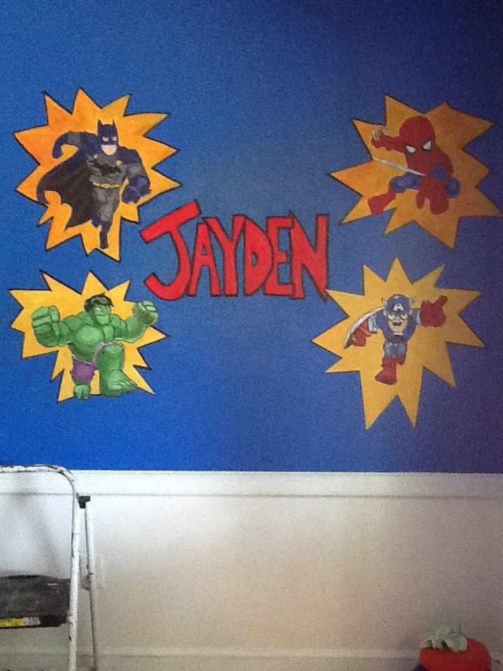 Superhero Wall Murals 28+ [ superhero wall murals ] | pics photos superhero wall murals