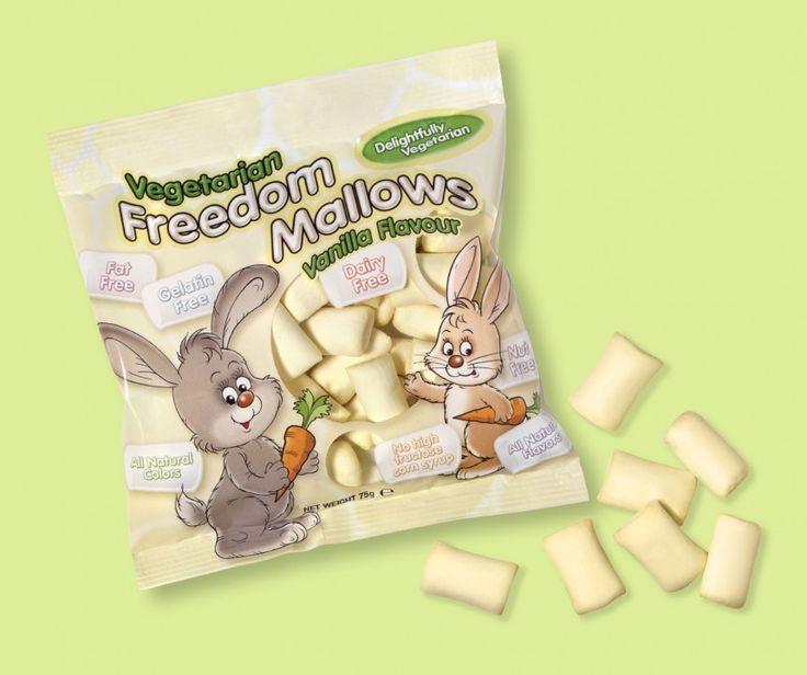 Vegetarian marshmallows | Veggie foods | Pinterest