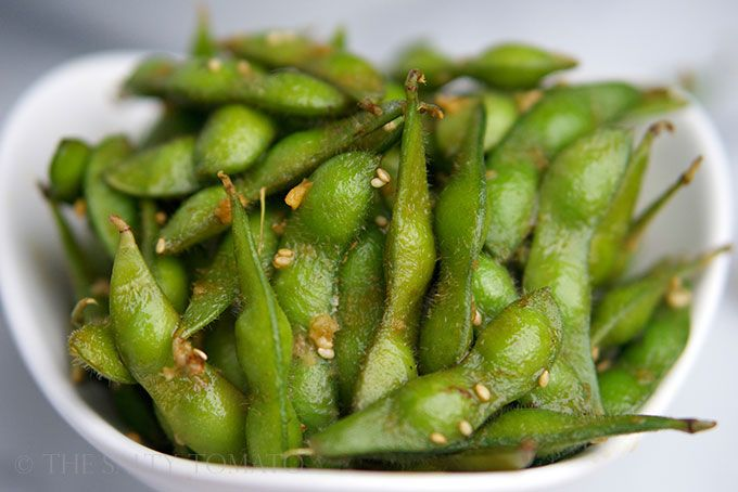 The Salty Tomato | Spicy Sesame Edamame and How I Learned to Blog ...