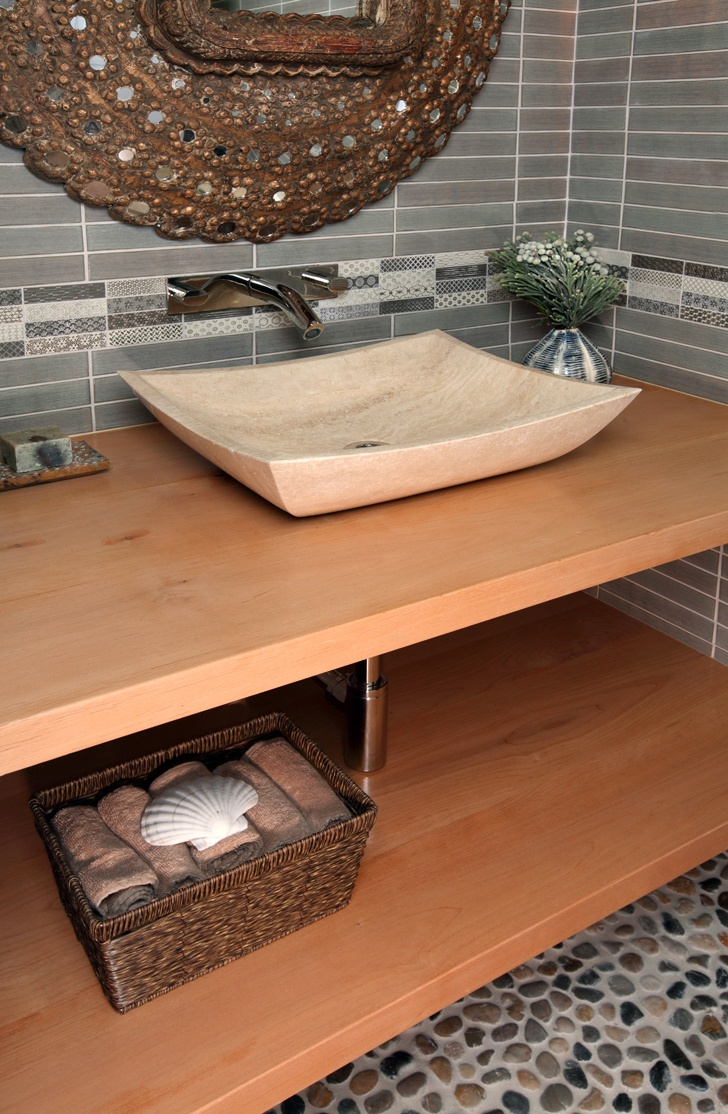 How To Carve A Stone Sink : hand-carved stone sink Bees Knees Sinks: Bathroom Pinterest