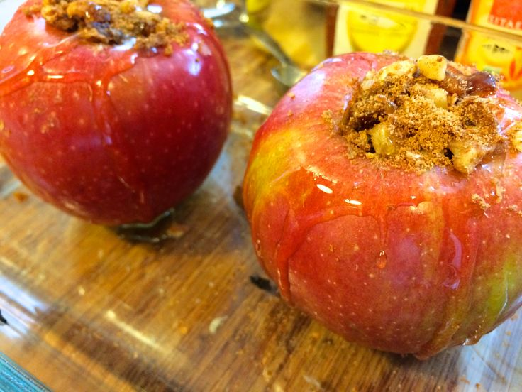 Super simple and healthy Baked Apples!