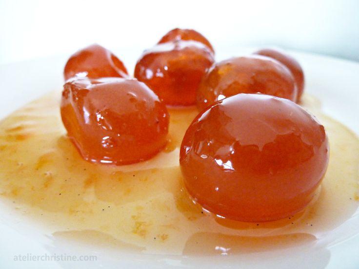 Kumquat and Vanilla Bean Marmalade.