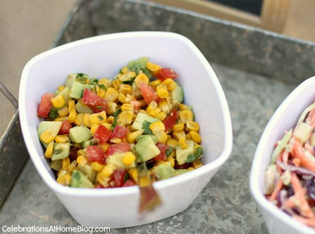 roasted corn and avocado relish recipe - great on hot dogs or scooping ...