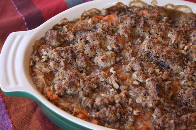 Sweet Potato Oatmeal Breakfast Casserole | Yumm | Pinterest