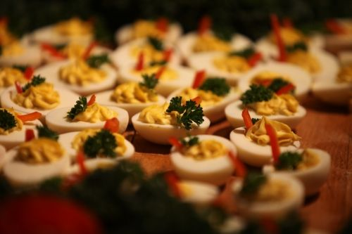 Kinnernet Deviled Eggs ... recipes for devilled eggs