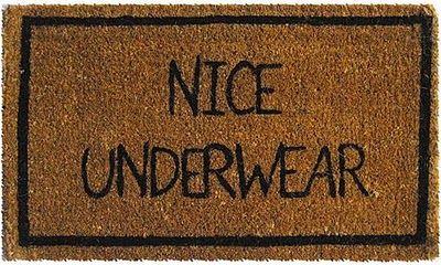 nice floor mat..