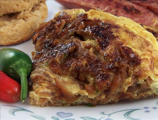 Onion Frittata   Food Treasure   Pinterest