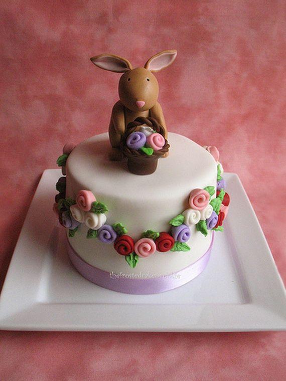 Easter Mini Cakes Decoration Ideas Decorating Ideas