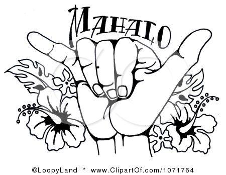 ... Clipart   H... Clip Art Hang Loose