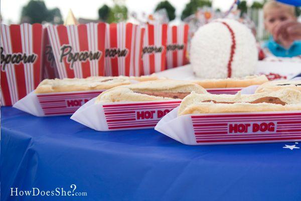 Baseball food --- oo love this!