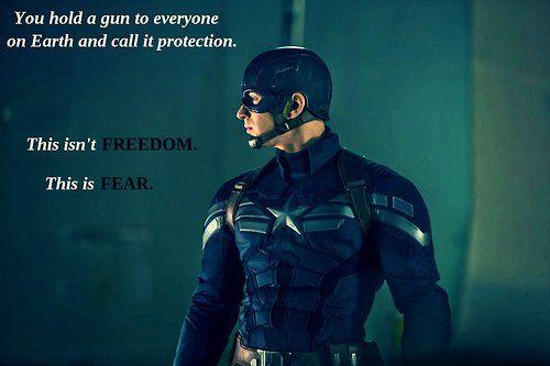 Captain America Winter Soldier quote
