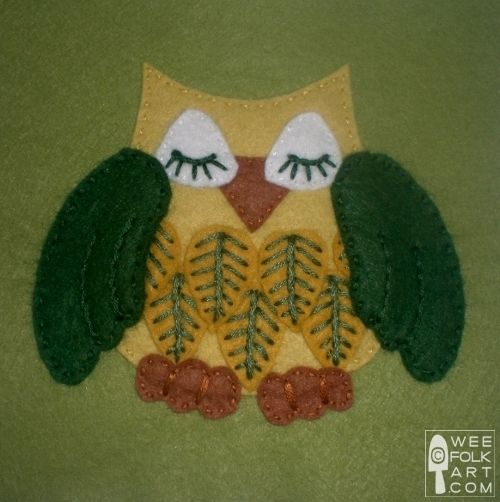 Scores of FREE Applique Patterns from Wee Folk Art