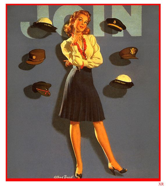 Which hat will you wear? #vintage #1940s #WW2 #posters