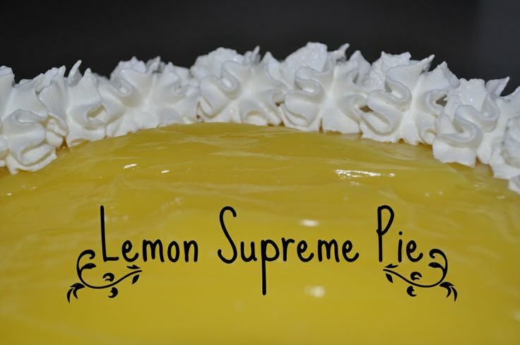 Lemon Supreme Cheesecake Pie! www.sparklesandglue.com DELISH!