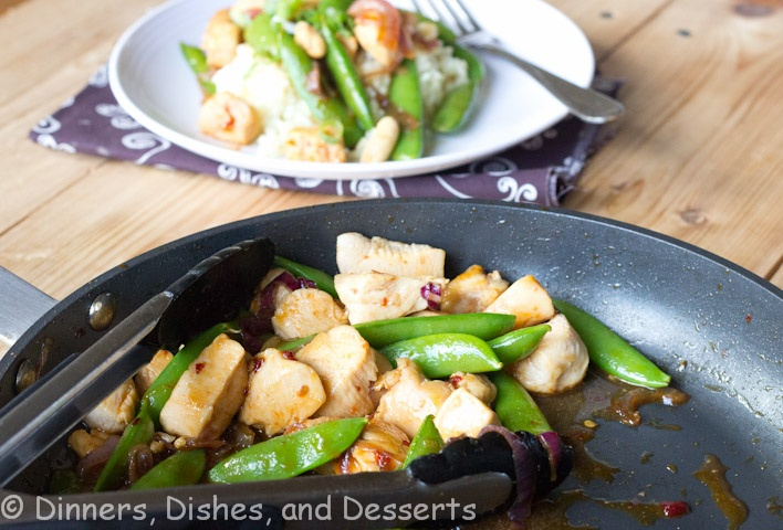Five-Spice Pork Stir-Fry With Sweet Potatoes And Snap Peas Recipe ...