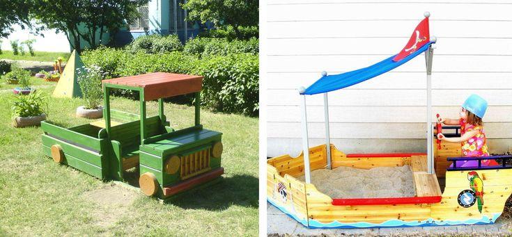 Машинки для детей на даче своими руками фото 75