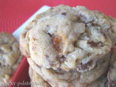 Butterfinger, Milky Way Chocolate Chunk Cookies