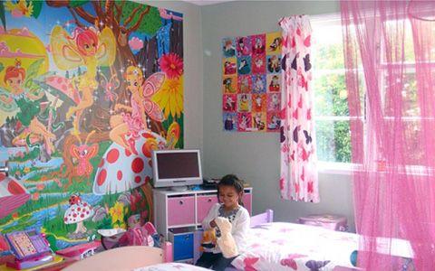 Kid´s room wallpaper  girls bedroom  Pinterest