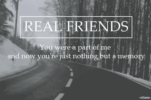 Real Friends // I don't love you anymore | Music is life ...