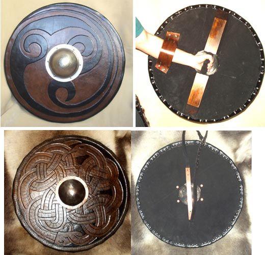 shields medieval vikings pinterest