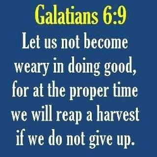 Galatians 6:9 | Uplifting Quotes | Pinterest