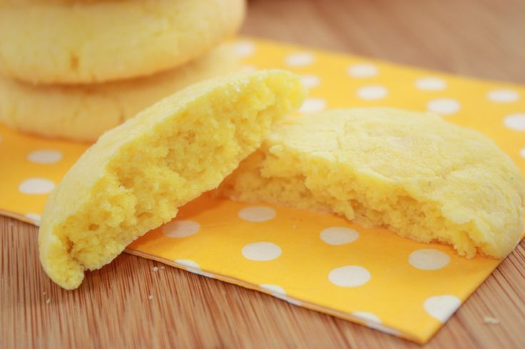 Lemon Sunshine Cookies | Food & Recipes | Pinterest