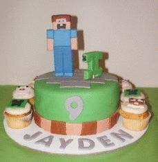 Kid Pinch of Sugar, Evansville, IN made my sons Minecraft Birthday ...