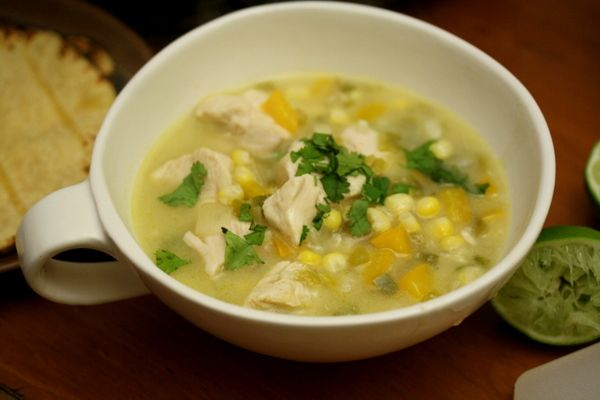 green chile chicken stew | to eat | soups+salads | Pinterest
