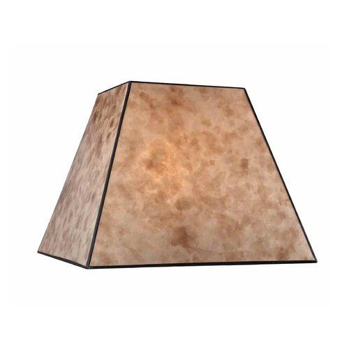 square mica lamp shade. Black Bedroom Furniture Sets. Home Design Ideas