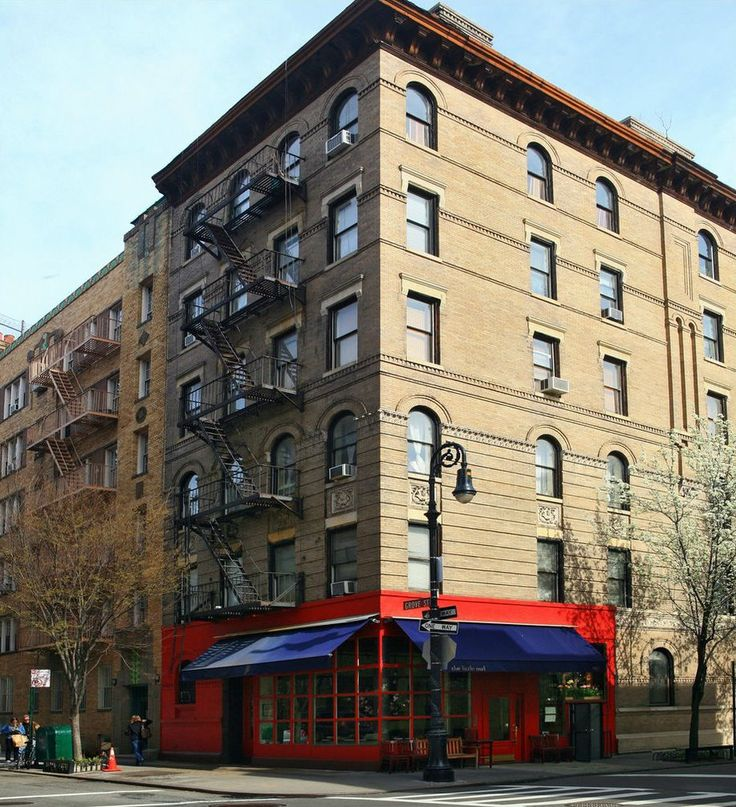 90 Bedford Street New York Friends Apartment Building