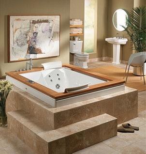Ahhh...Jacuzzi tub